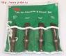 JAZ-3944H Jonnesway  комплект коротких зубил для пневматического молотка (JAH-6833H), 4 предмета