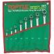 GAAA1204 Toptul  набор накидных ключей 6-32мм (угол 75°)  12ед.