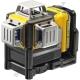 Лазер самовыравнивающийся 3-х плоскостной DeWALT DCE089D1R (США/Китай)