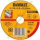 Круг отрезной по металлу 115мм DeWALT DT3400-QZ (США/Польша)
