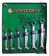 W24106S Jonnesway набор ключей разрезных 8-19 мм, 6 предметов