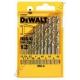 Набор свёрл по металлу HSS-G DeWALT DT5922 (США/Германия)