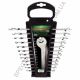 GAAC1201 Toptul набор ключей комбинированных на холдере 12 шт.
