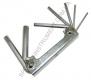 H01M07SF Jonnesway комплект шестигранников в ключнице, 7 предметов