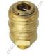 GM-02AM Jonnesway разъем для пневматических изделий 1/4' (мама) наружная резьба