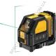 Лазер самовыравнивающийся 2-х плоскостной DeWALT DCE088D1G (США/Китай)