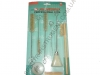 AS-0026 Jonnesway комплект щеток для чистки 'Краскопультов', 12 предметов