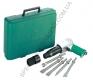 JAH-6833HK Jonnesway набор пневматического инструмента молоток - 2100 уд/мин 283 л/мин и комплект насадок, 8 предметов