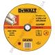 Круг отрезной по металлу 230мм DeWALT DT42601 (США/Словения)