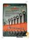 W66308S Jonnesway набор комбинированых трещеточных ключев с карданом 8, 10, 12, 13, 14, 15, 17, 19мм, 8 предметов