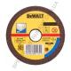 Круг отрезной по металлу INOX 115х22.2х2.5мм DeWALT DT3443-QZ (США/Тайвань)