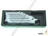 W25110SP Jonnesway набор рожковых ключей  6x7, 8x9, 10x11, 12x13, 14x15, 16x17,18x19, 21x23,24x27,30x32 мм 10 предметов, ложемент, пластиковый кейс