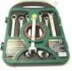 W45107S Jonnesway набор ключей комбинированных трещоточных, 72 зубца, 10-19мм, 7 предметов