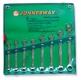 W264108PRS Jonnesway набор ключей комбинированных хромированных удлиненных, 8 предметов